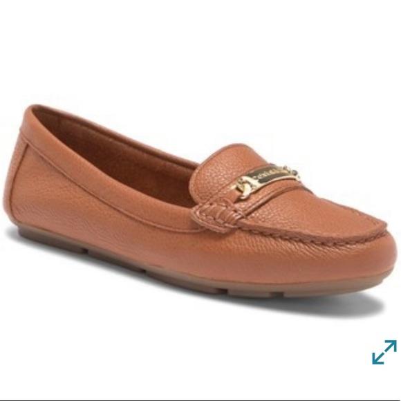 d7568420cf0 Calvin Klein Shoes - Calvin Klein Lunasi Pebbled Leather Loafer